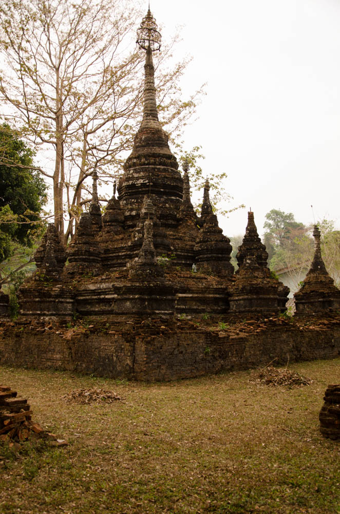chiang dao cave stupa