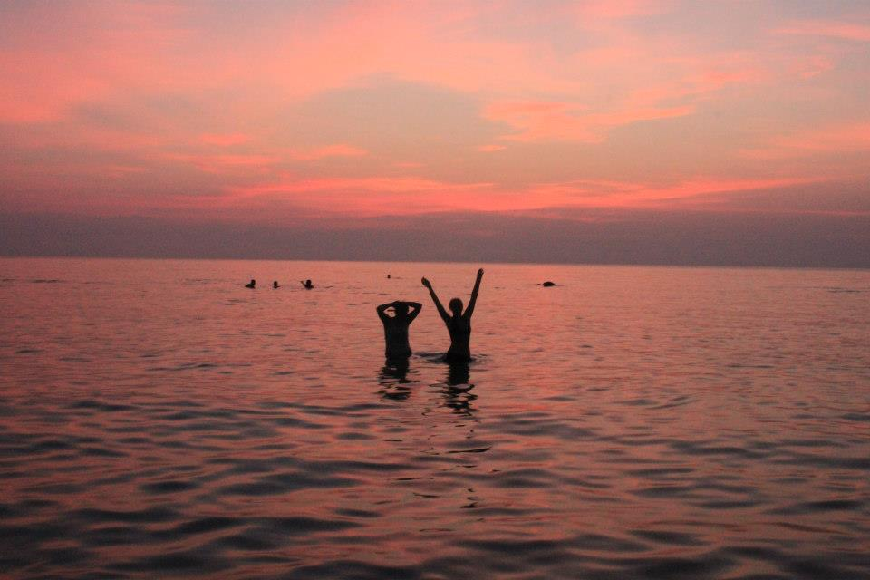Wschód słońca, Koh Phangan