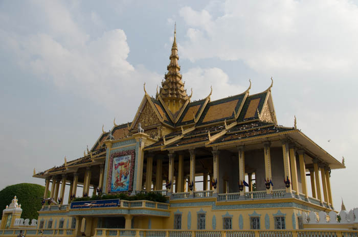 Royal Palace from the outside