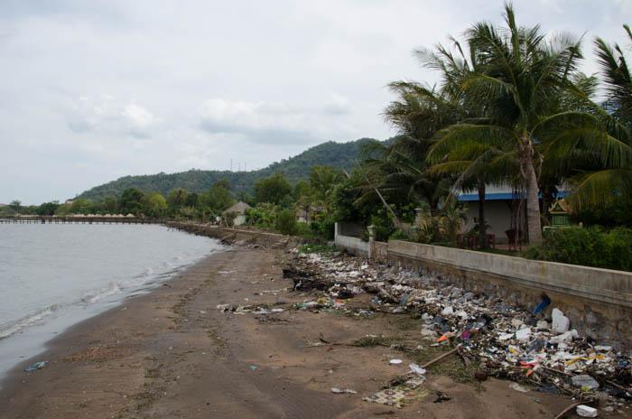 Rubbish - a great problem in Cambodia