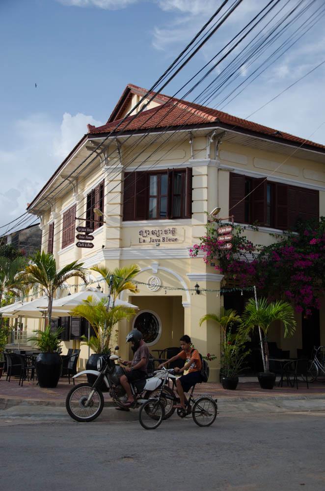 One of the villas in Kampot