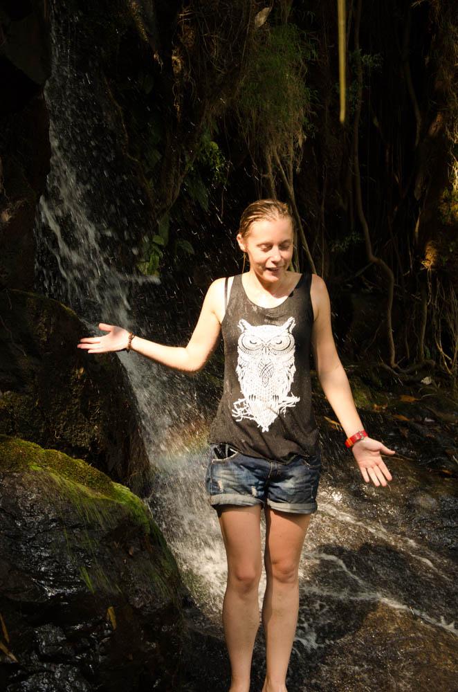 Waterfall in Mae Hong Song