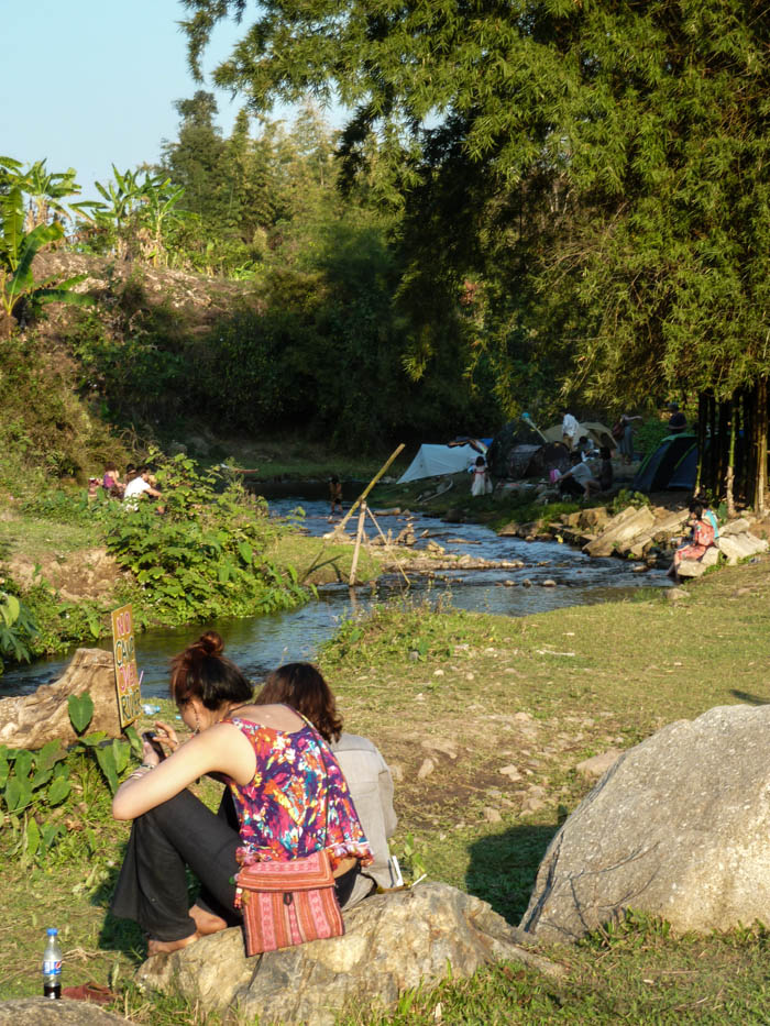 Chill out at the Shambala Festival, Chiang Dao