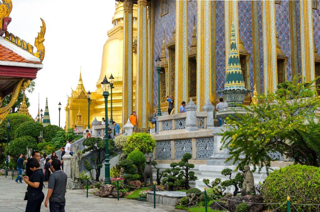 Świątynia w Pałacu Królewskim w Bangkoku