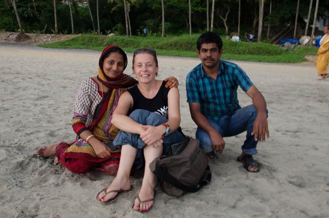 With Saffna and Ibrahim