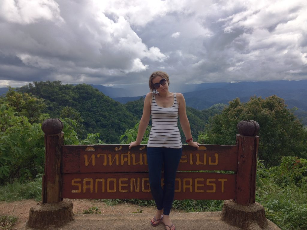 The view point on the Samoeng Loop