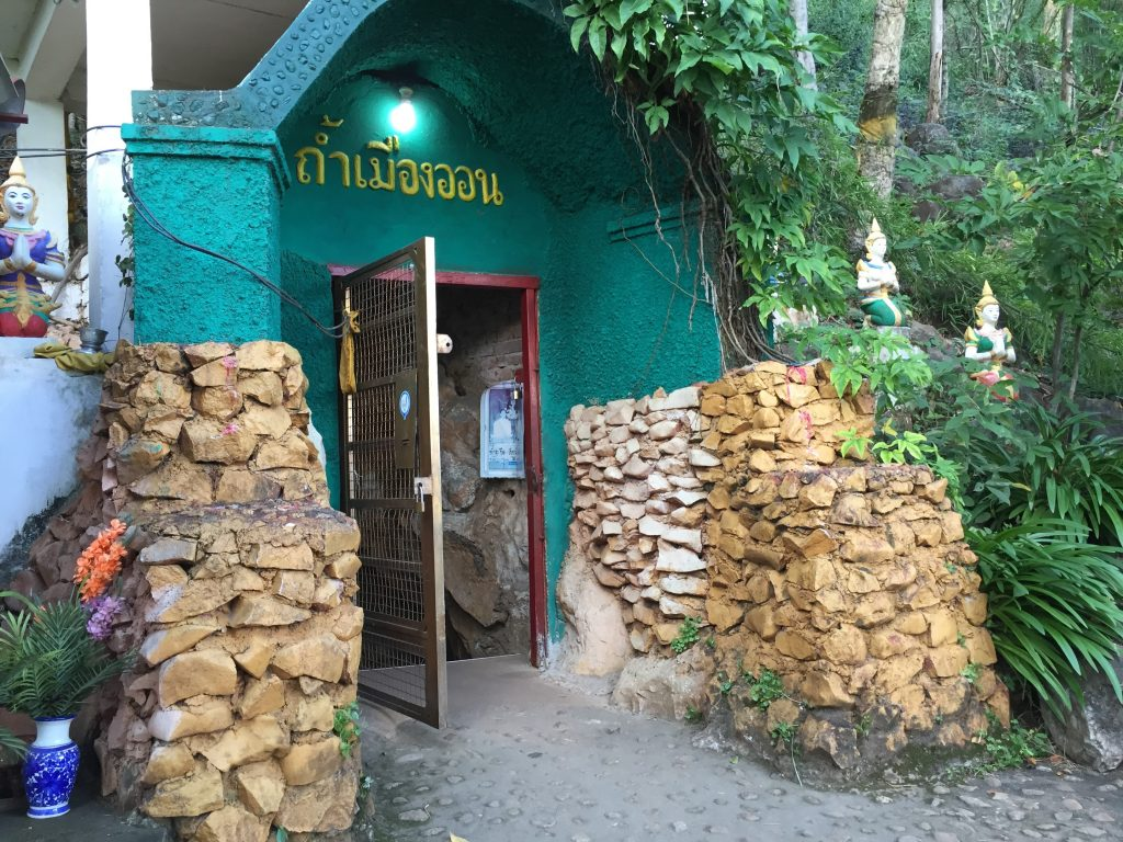 Entrance to the Muang On Cave