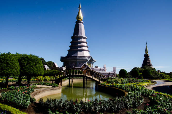 The gardens on Doi Inthanon