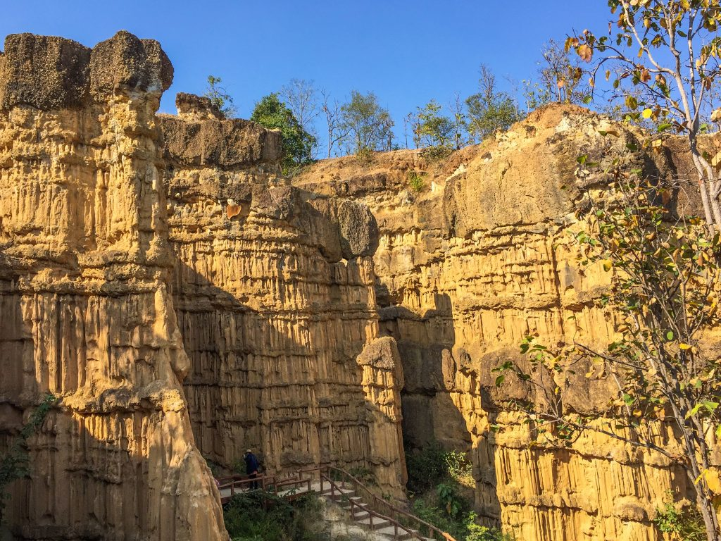 Pha Chor Canyon is considered to be a natural phenomenon