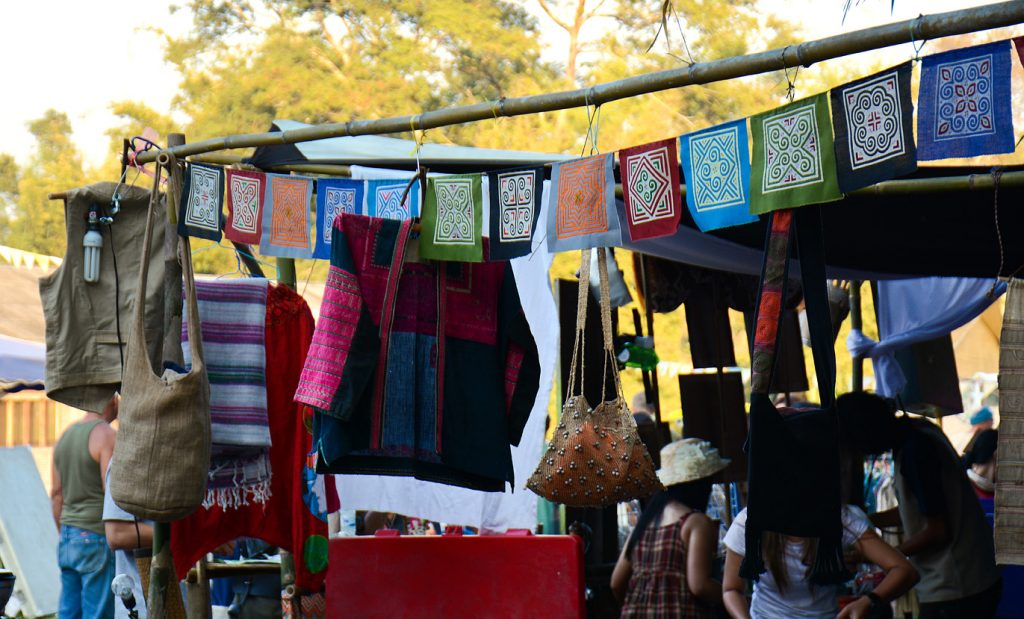 Small shop at the Shambhala Festival