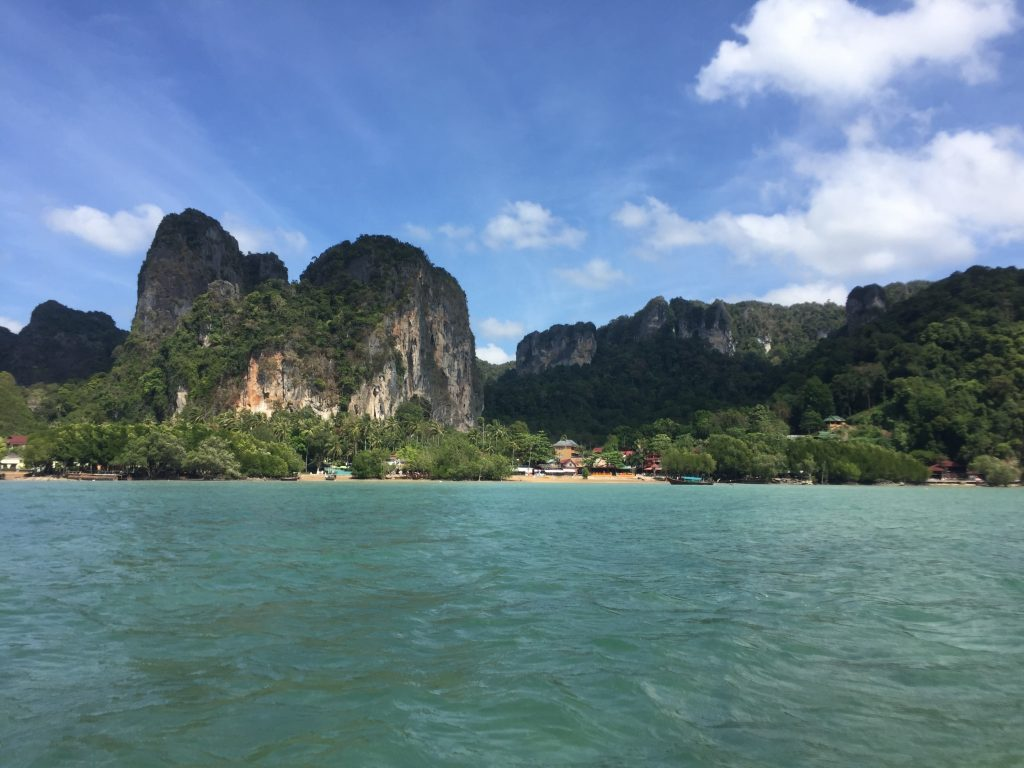 Railay is one of the most beautiful beaches I have ever seen so far