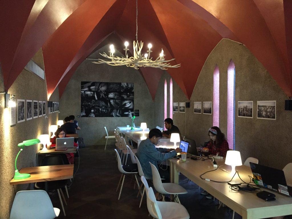 Interior of Kaweh Café