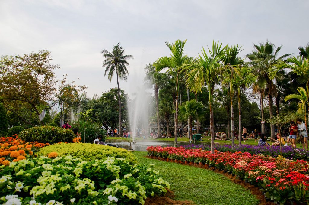 Suan Buak Park in Chiang Mai