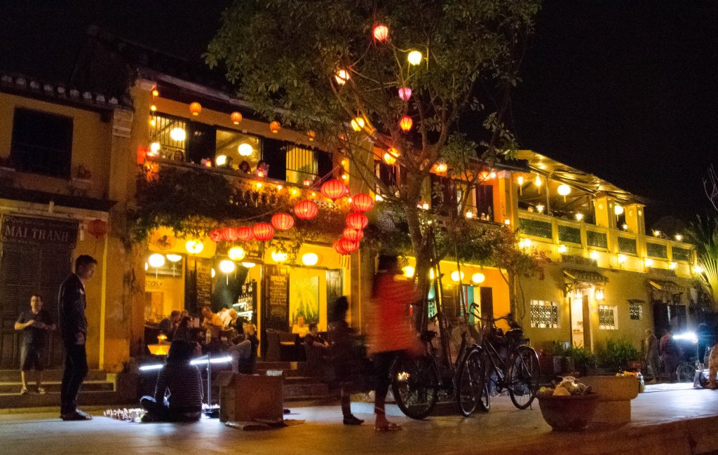 All the bars in Hoi An shut down at midnight