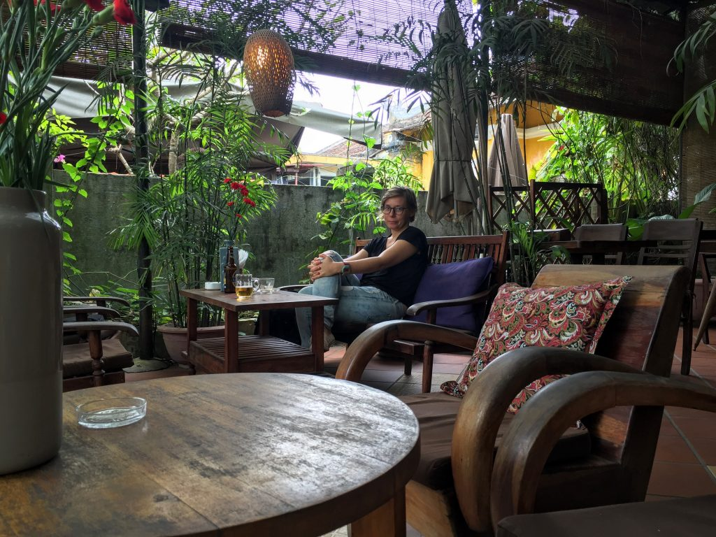 Hoi An has a lot of lovely, little places to drink coffee at