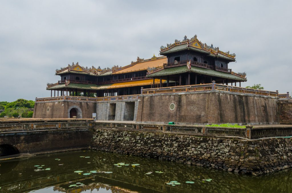 Southern entrance to the Imperial City in Hue
