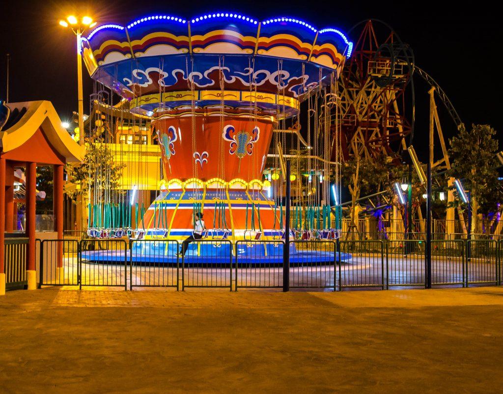 Carousel at Asia Park in Da Nang