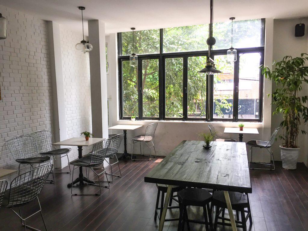 Inside Wonderlust Café