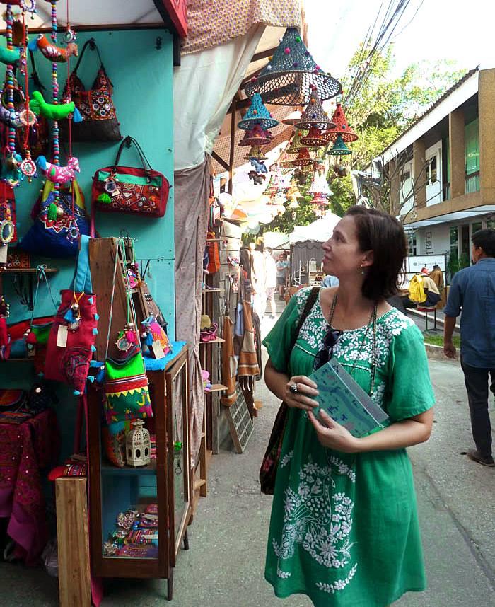 zakupy w Chiang Mai