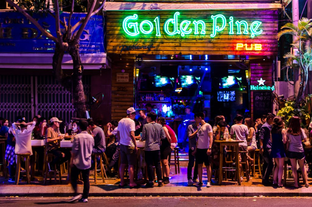 Golden Pine Pub in Da Nang