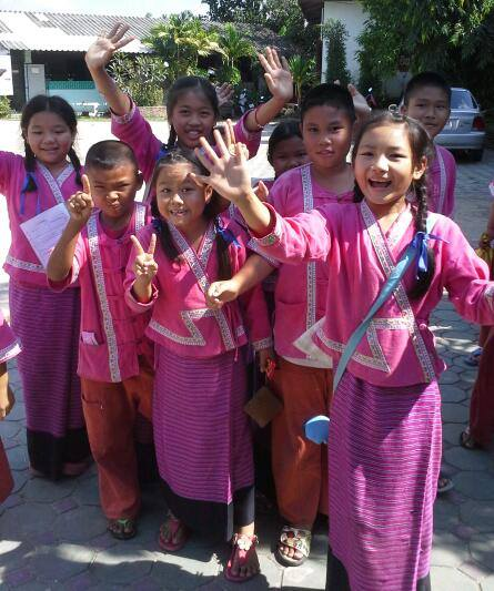 SEE TEFL Chiang Mai teaching practices