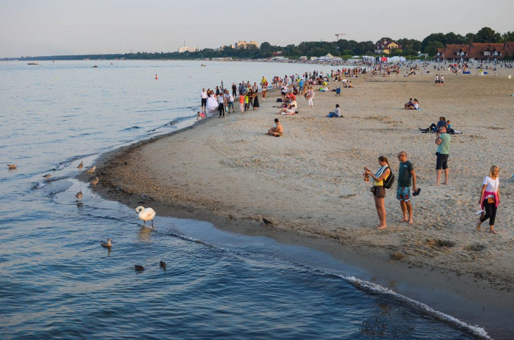 Beach Sopot