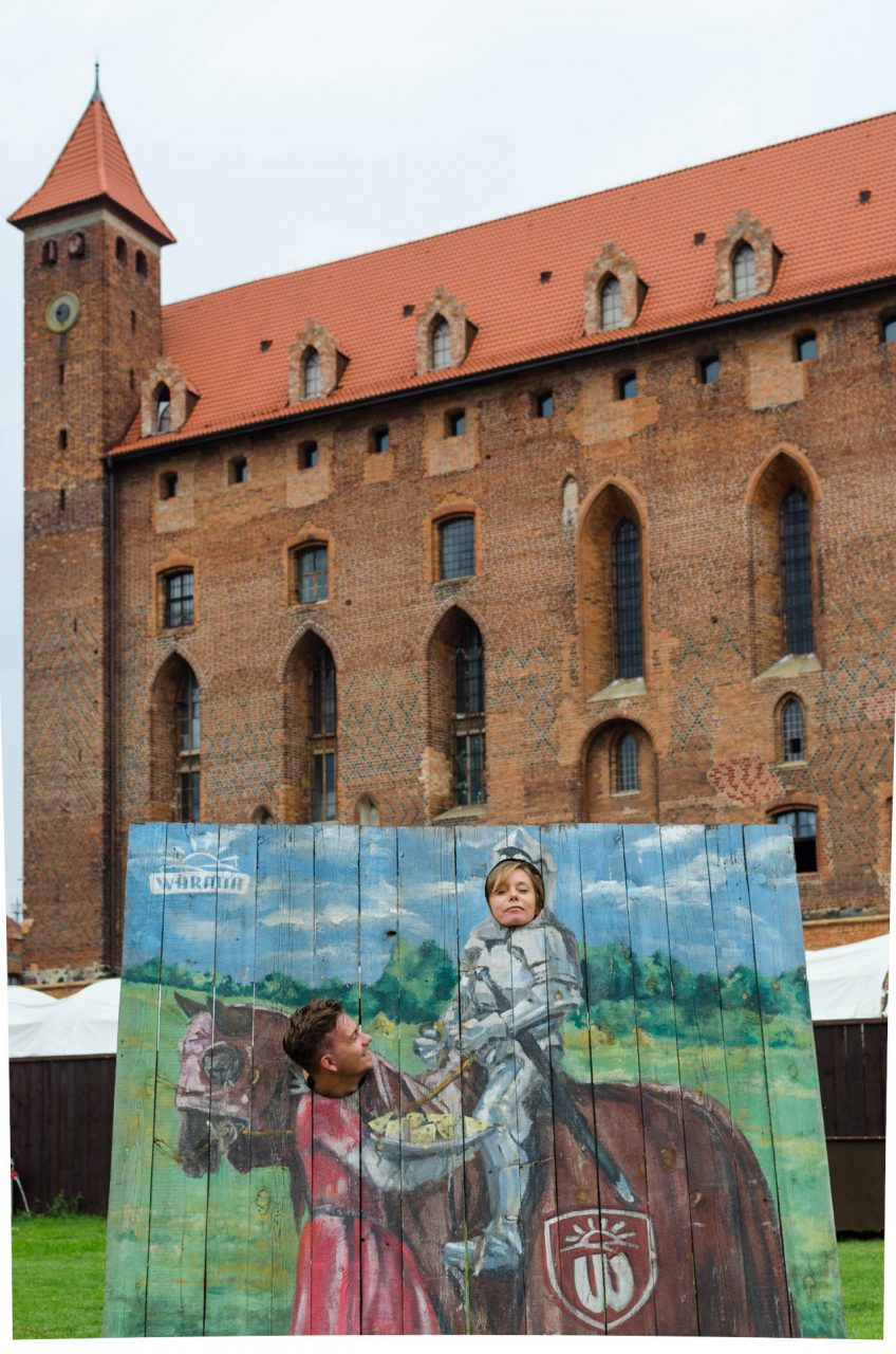 Gniew castle playground