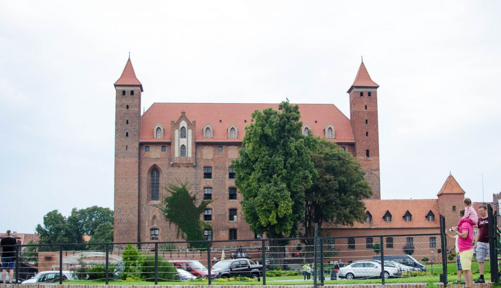 Gniew Castle building