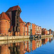 Gdańsk port crane