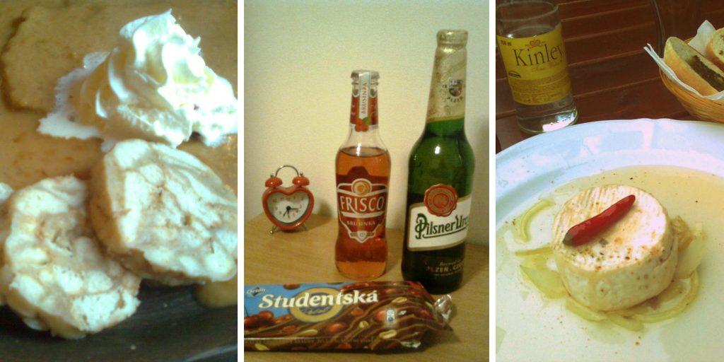 Czeskie jedzenie i piwo