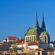 Špilberk Castle in Brno