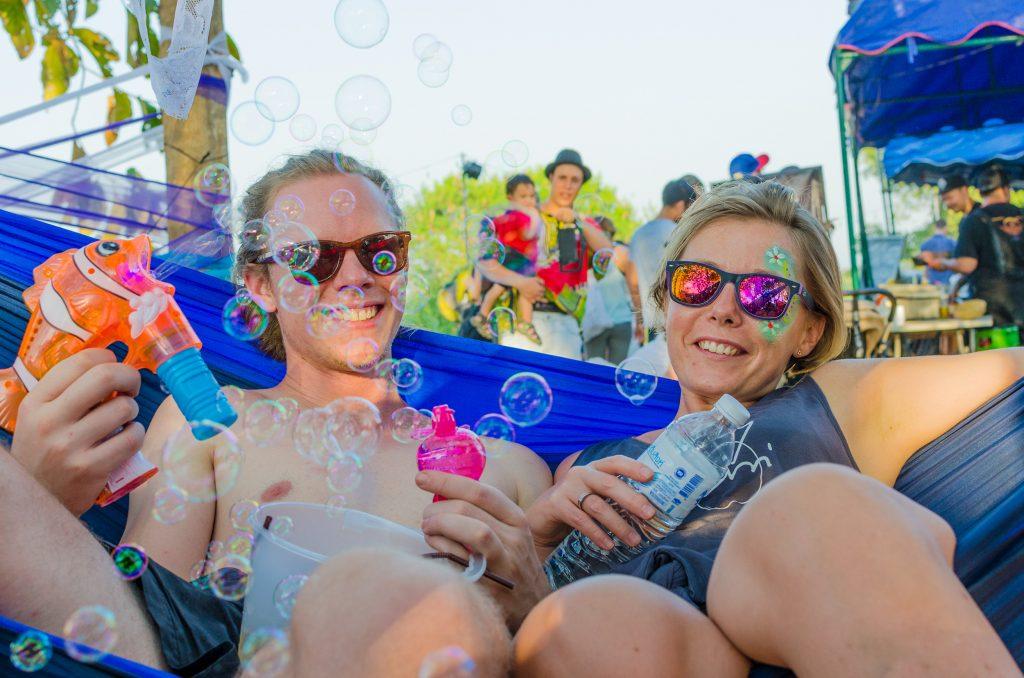 Jai Thep Festival, bubble making
