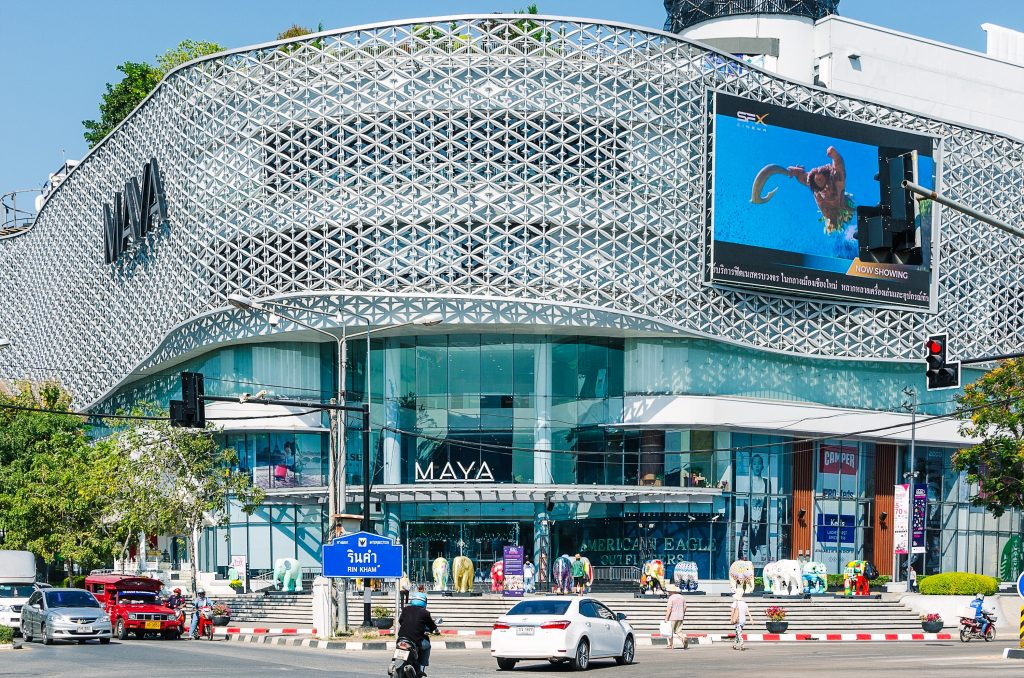 Maya shopping mall in Chiang Mai