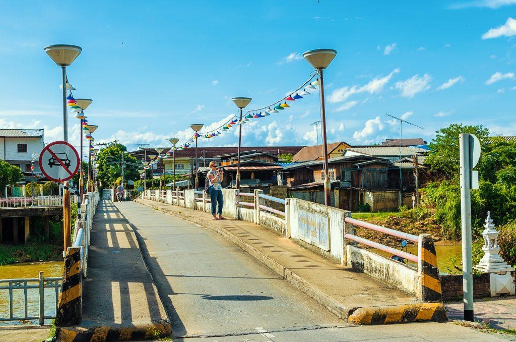 Most lampang tajlandia