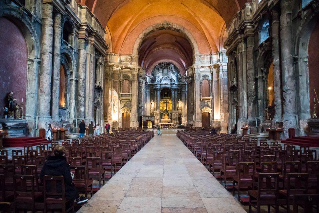 kościół Sao Domingo Lizbona
