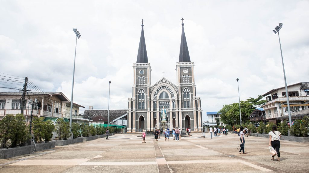 Catholic church in Chanthaburi