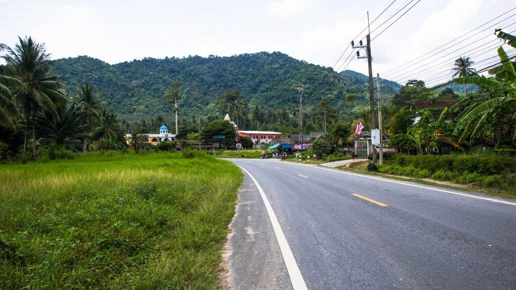 road in khanom