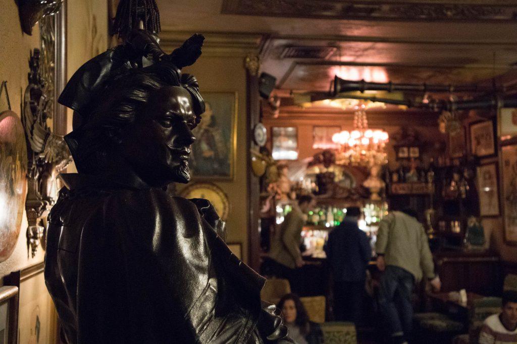 a bar in lisbon