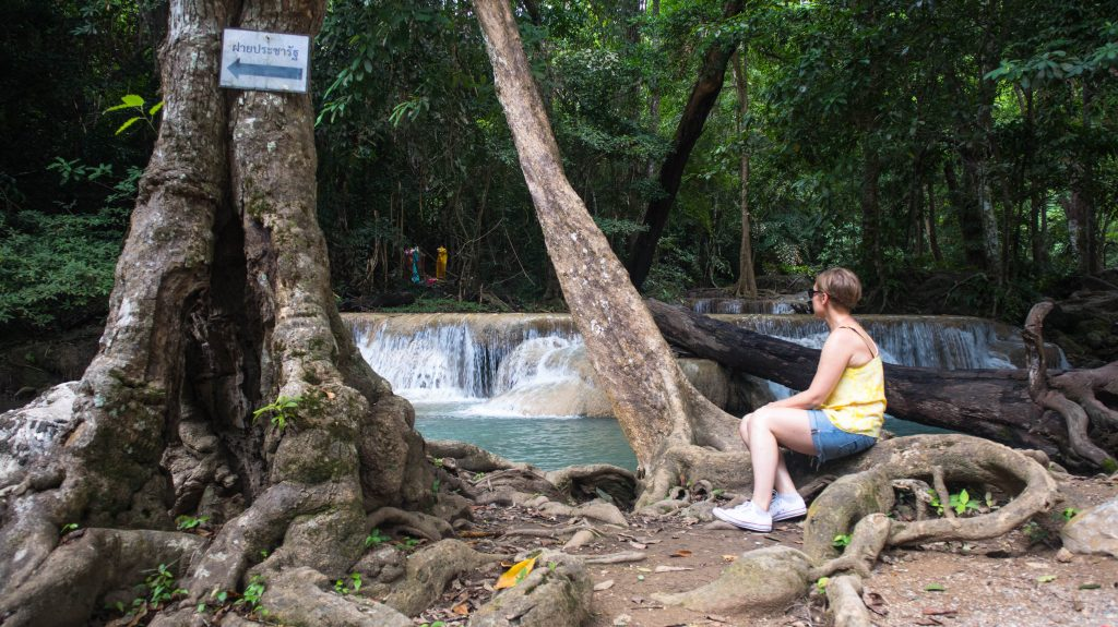 Everything You Need To Know About A Trip To Erawan Waterfall The Blond Travels
