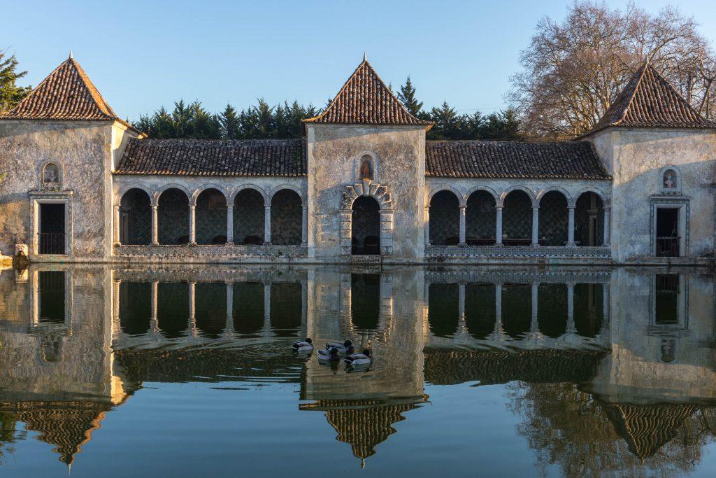 pałac na wodzie Quinta de Bacalhôa