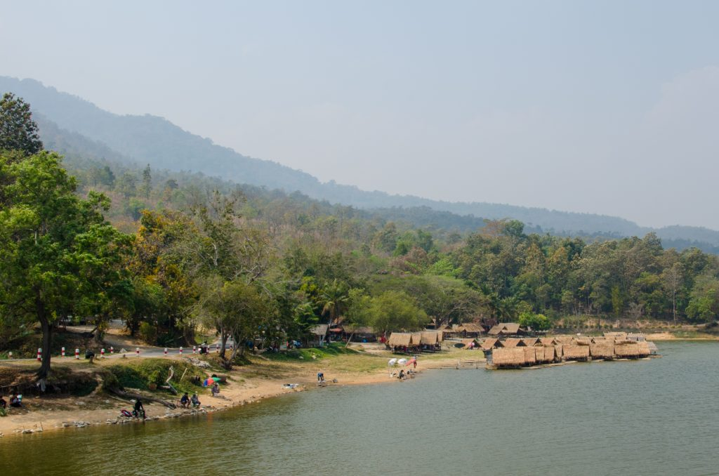 Huay Tung Tao Lake in Chiang Mai - The Blond Travels