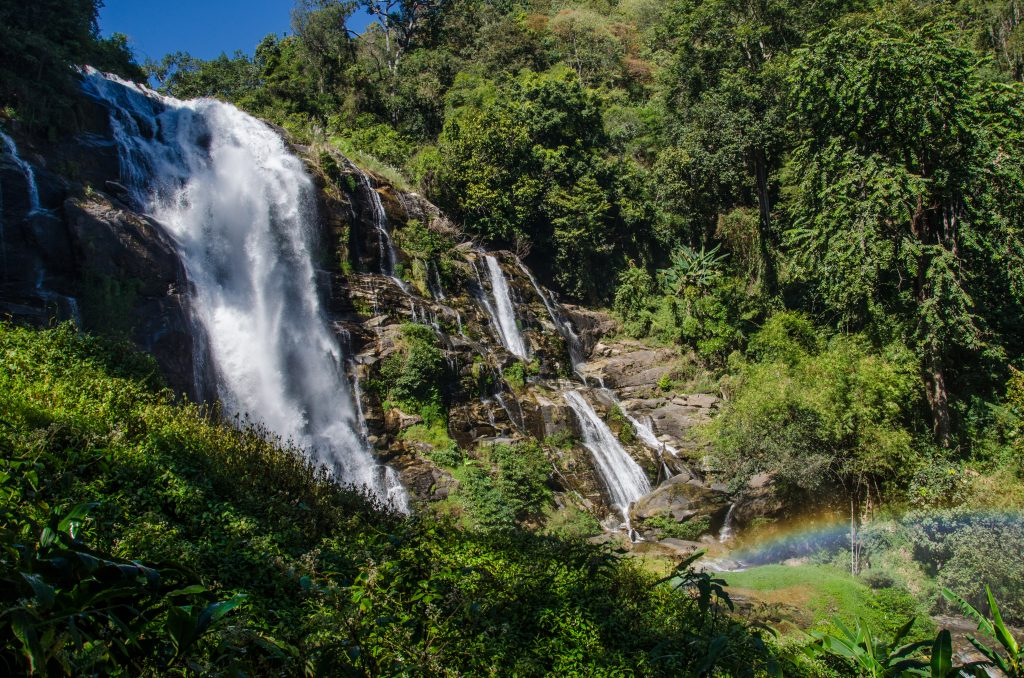 Wachiratan Waterfall at Doi Inthanon National Park